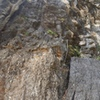 Sackflattner is the left most route at the crag along with the best route in my opinion.