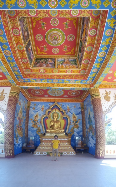 Be sure to checkout a few of the temples in Vientiane.