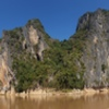 This amazing wall is located at the confluence of the NamOu and Mekong Rivers.   There are a handful of routes on Eagle wall to the left yet nothing going up the top of the main face.