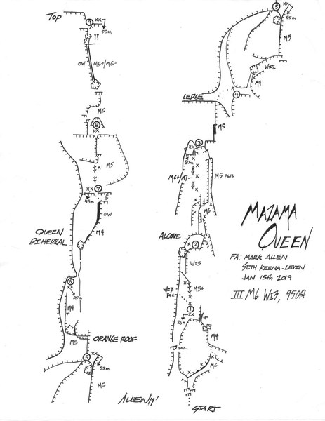 Mazama Queen Topo Mark Allen CW2019