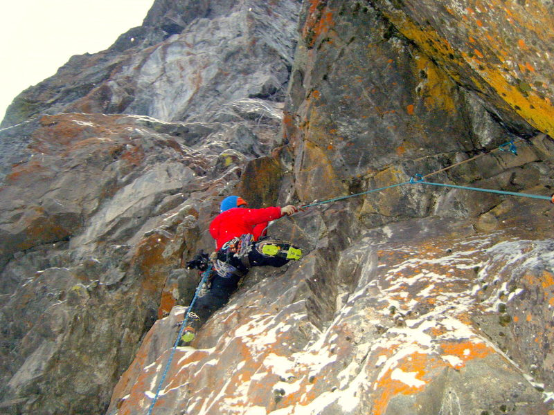 Mark Allen on the FA of pitch 6 the Orange Roof M5: Photo Seth Keena-Levin