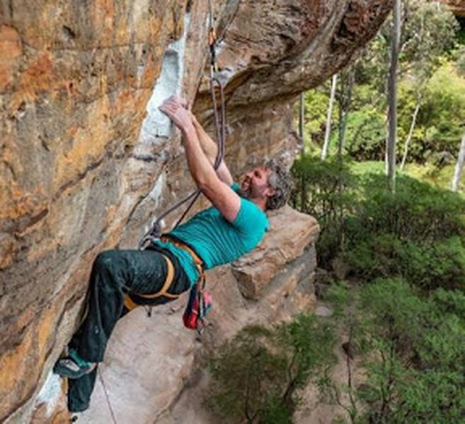 Trix Roughly, 5.12c, Main Wall, Centennial Glen, Blue Mountains, Australia