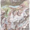 Approach map to Granite Peak.