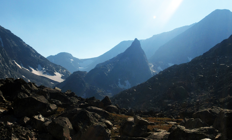 Not a bad view on the approach to West Granite Peak.