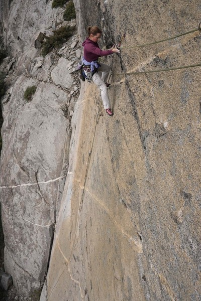 traverse to anchor on pitch 1