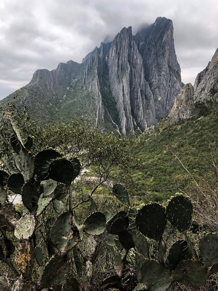 El Potrero Chico from the base of Buzz Rock.  Worth the hike.