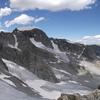 Gannett Peak, late July on a low snow year.