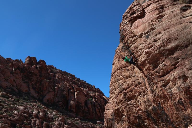 hard Start with good Climbing