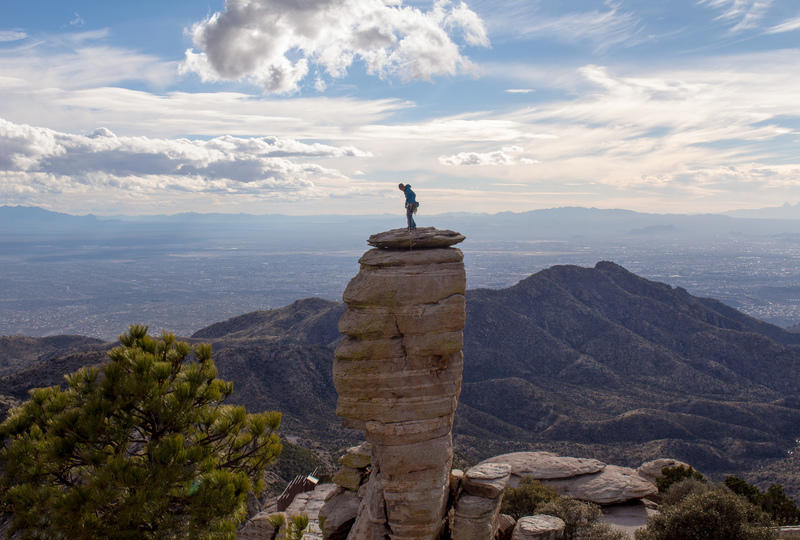 One of the iconic spires at Mount Lemmon