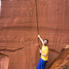 A man whose found a crack he's been climbing in his dreams for 2+ years