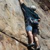 Joe Molina climbing The Wall