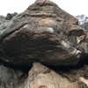 Quite the hike but a nice looking rock.
