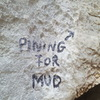 Pining for Mud stay is just left of the large tufa columns.