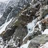 Just below the the buttress