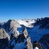 February 2016. Zach Keskinen near the summit.