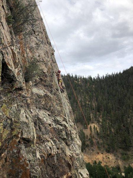 Nice slab climb