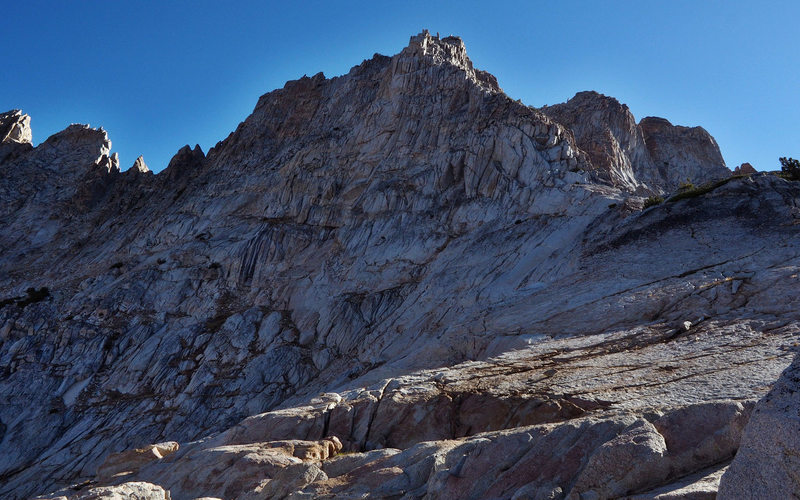 The West Ridge from the top of the so called 'dome' above Burro Pass