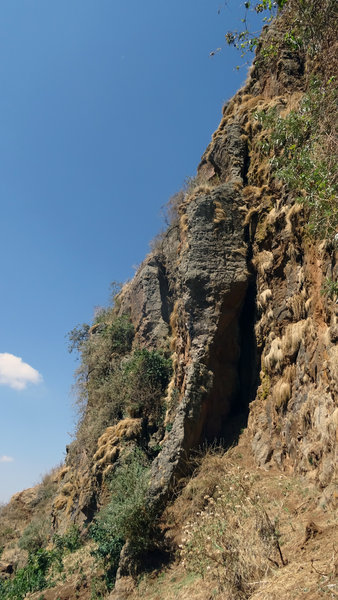 Looking at Tila and the Basque Arete
