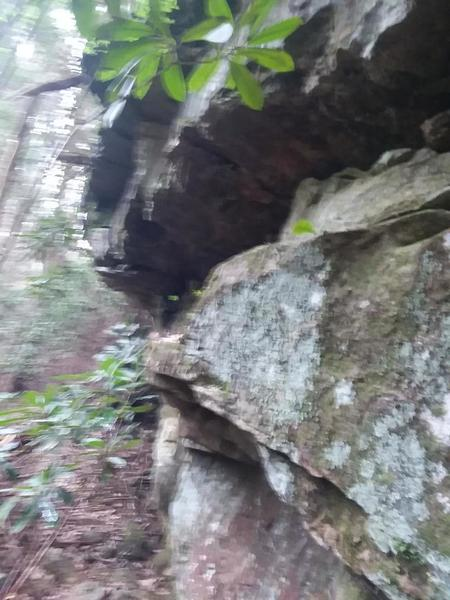 Random shot of some of the sandstone. Taken by a member of the Chossy Tree-o.