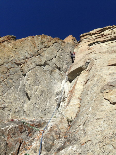 Vanessa Scharf making it look easy on Pitch 3 (Chocolate Snot Rockets).
