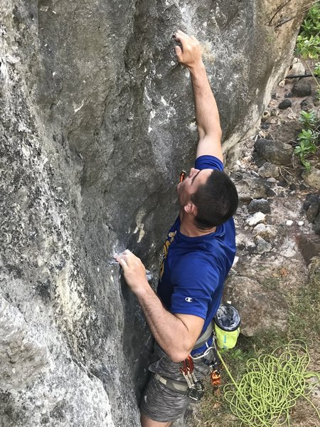 First moves of the crux