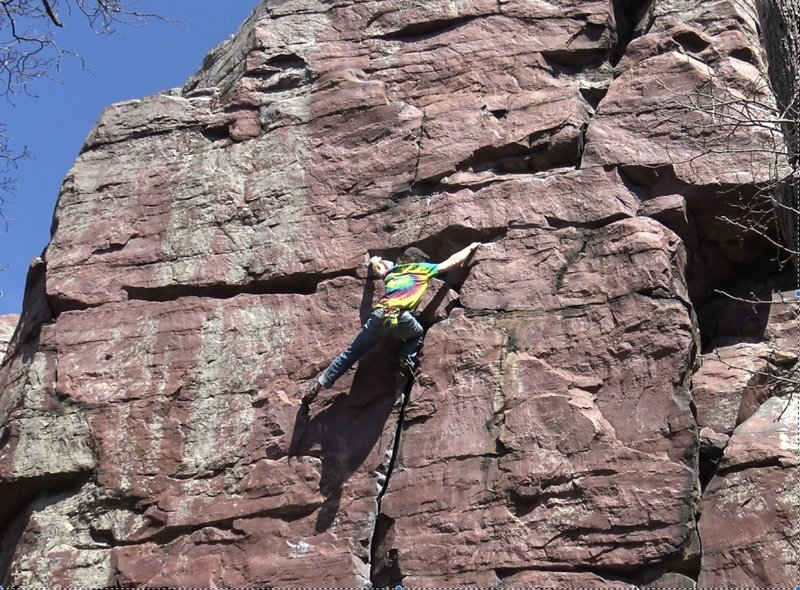 Onsight Free Solo in honor of John Gill and the DLFA