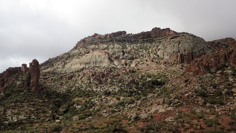 Southside of Obscurity Canyon.