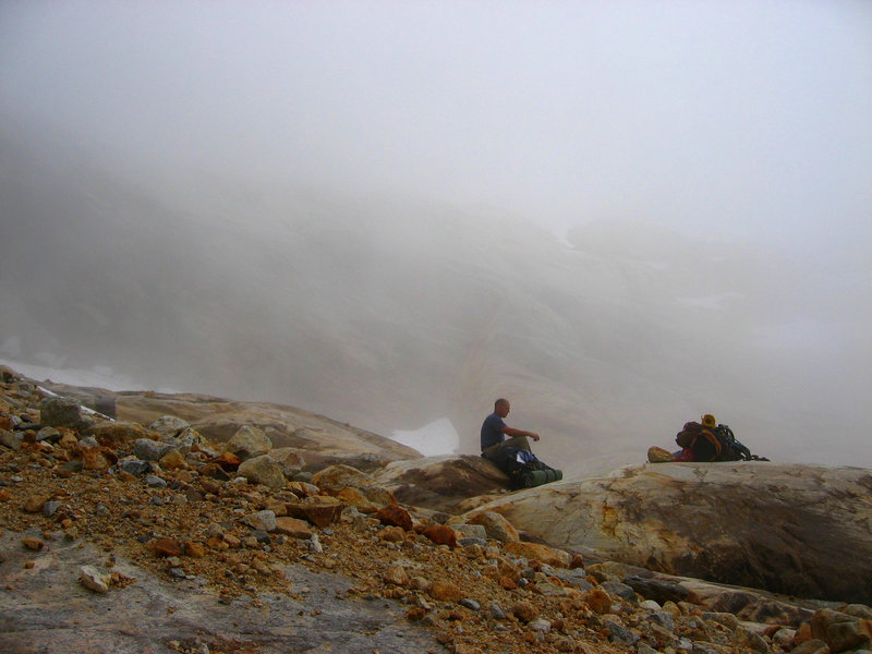 Lost in the clouds - The Pickets, North Cascades