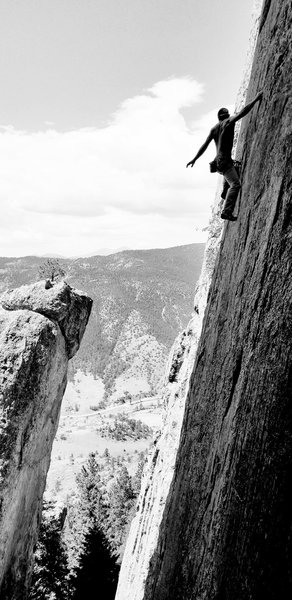Enjoying the view during a quick shakeout. Amazing position on this rig.<br> <br> Photo by Mo Beck.