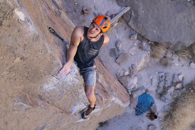 Arete climbs are FUN.