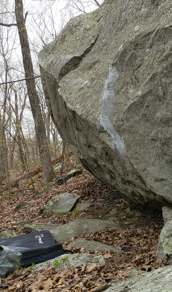 it's a nice boulder