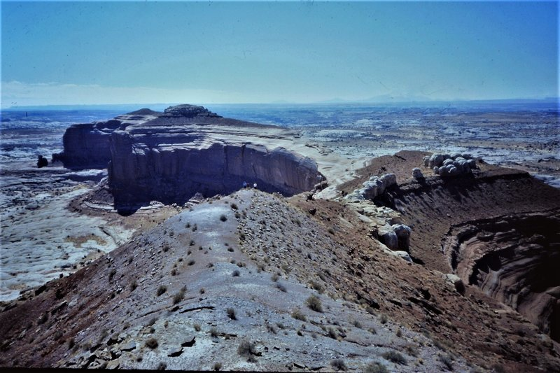 View from the summit of Lost World Butte