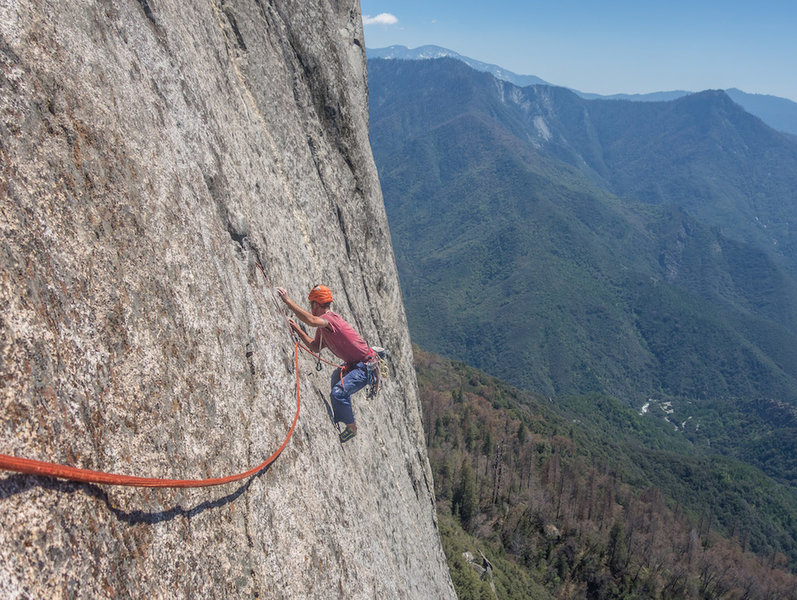 Vitaliy on the alternate finish to the top out pitches