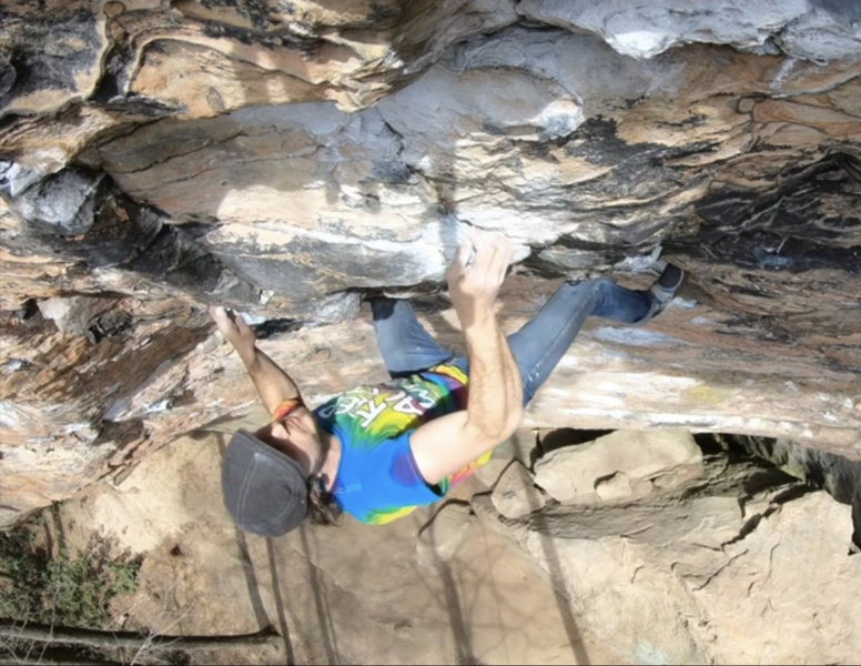 Solo in the crux