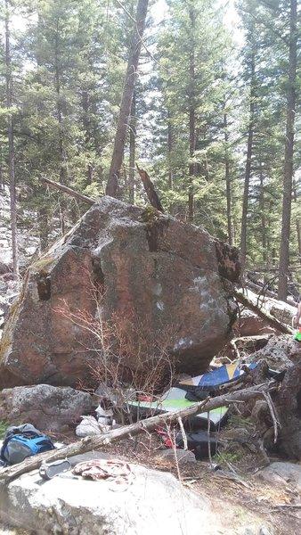 The Dab Boulder