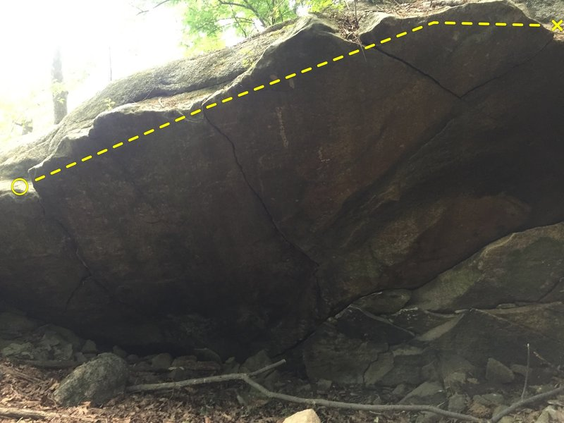Photo of full traverse