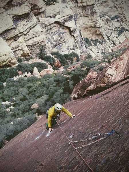 The very thin last section on p1. Bring RP's for this one.<br> Photo: Oskar L.
