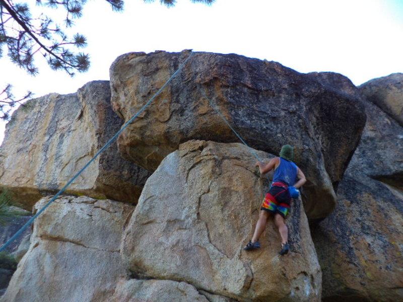TR at Meadow Crag area.