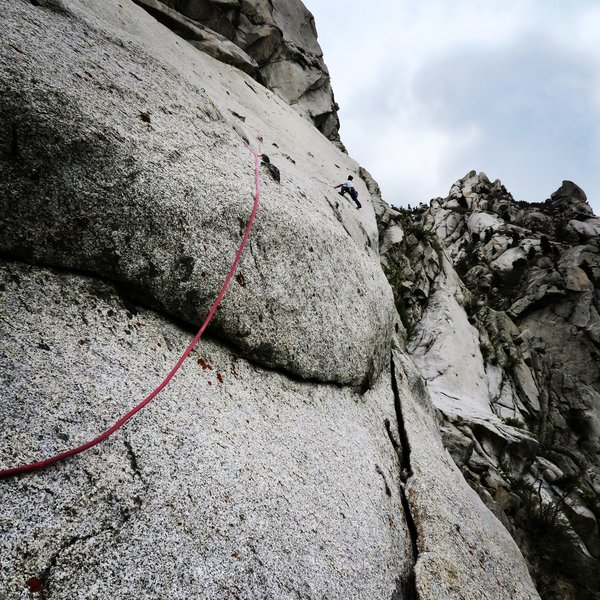 The exciting 3rd pitch slab