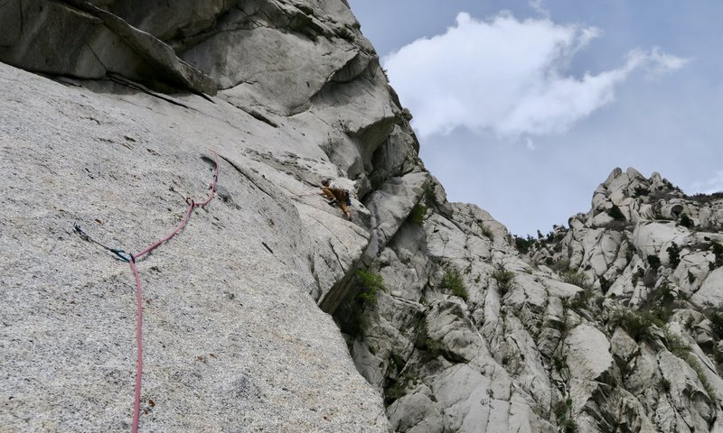 """4th and last pitch with """"The Gills"""" on the left and above"""