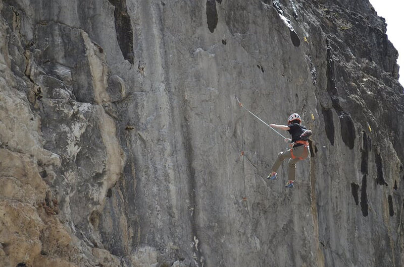 Falling off the route
