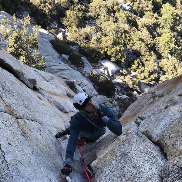 make sure to take a moment and ponder the crux moves if following pitch 1