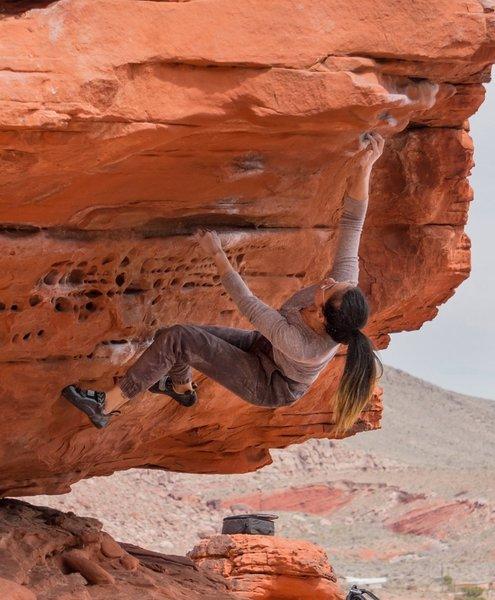 Bouldering at Red Rocks