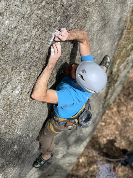 looking for holds where ever I can find them!