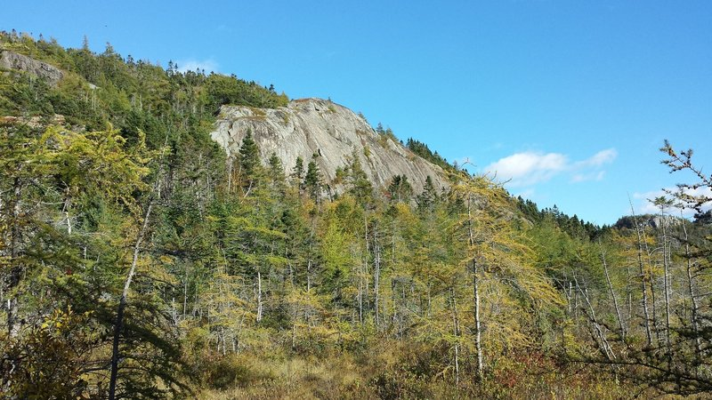 Outer slab from the trail.