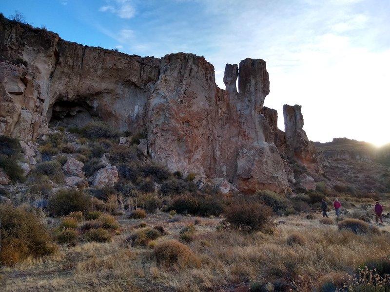 Pichileufu rocks