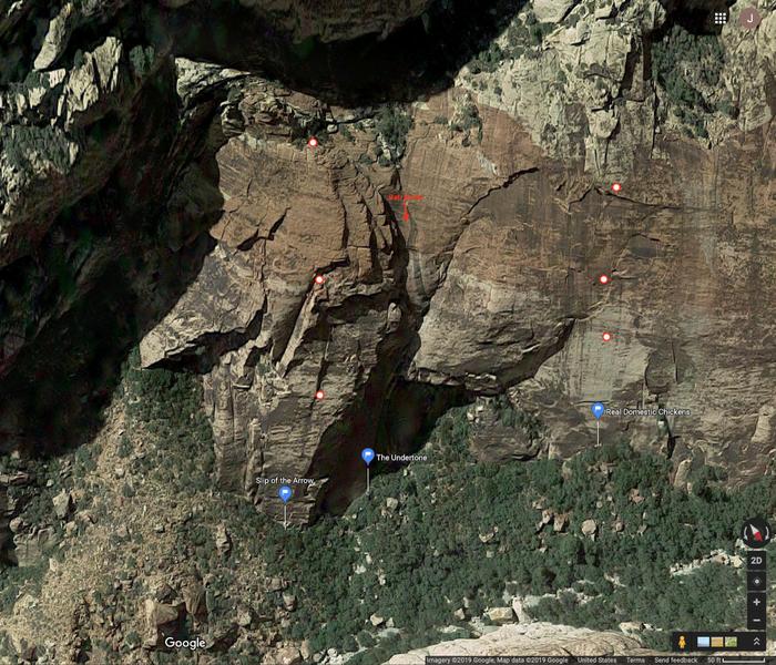 Slippery Buttress & Slippery Peak Apron