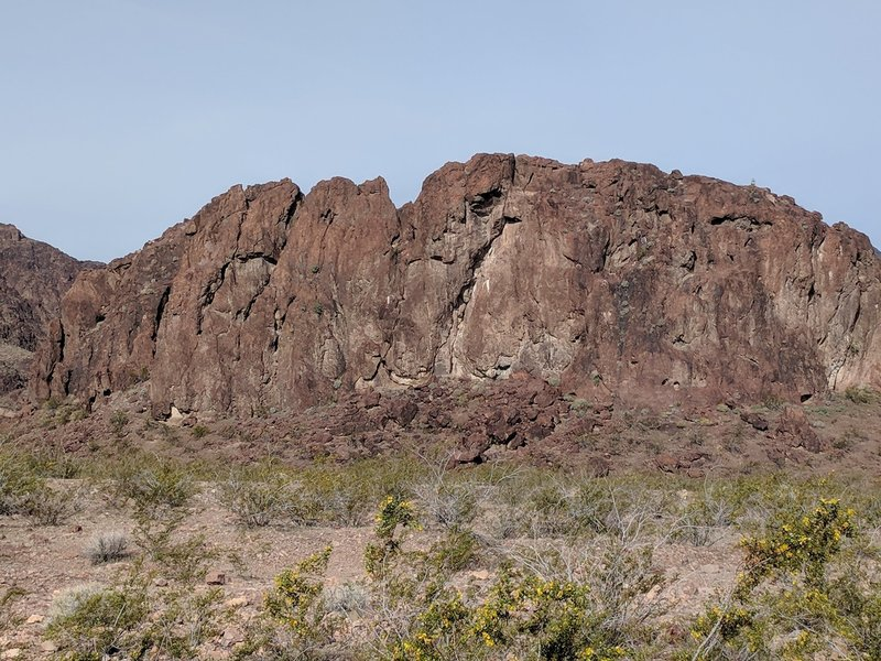 The south side of Rock Islands.