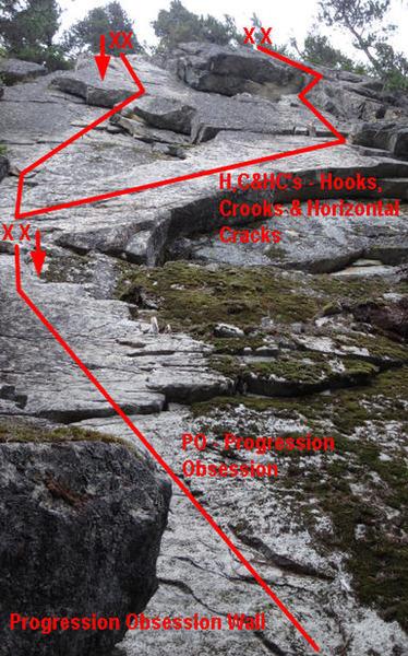 Hooks, Crooks & Horizontal Cracks