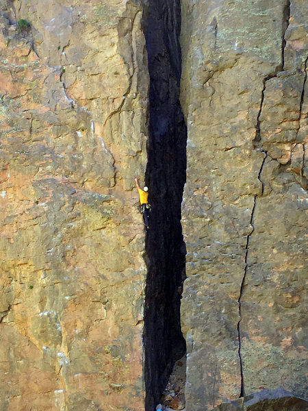Climber on The-Aretical